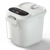 大白全自动足浴器盆泡脚桶家用洗脚盆恒温加热电动按摩养生