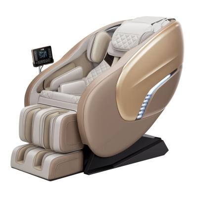 佳仁JR-X8电动新款按摩椅呼吸唤醒灯大屏触控 全包裹加长导轨