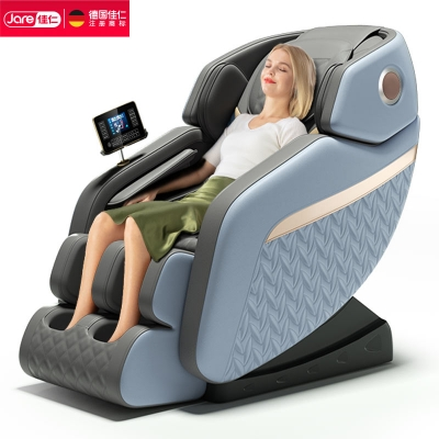 佳仁E7-1电动新款按摩椅全自动家用小型太空豪华舱全身多功能老人沙发 一体免安装 开箱即用 送货上楼 全国联保