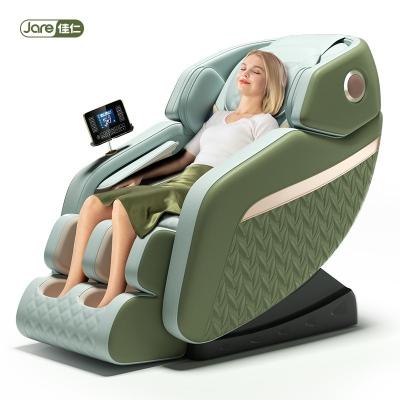 佳仁JR-E7-1绿电动新款按摩椅全自动家用小型太空豪华舱全身